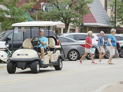Golf carts: Fun-sized transportation or menace?
