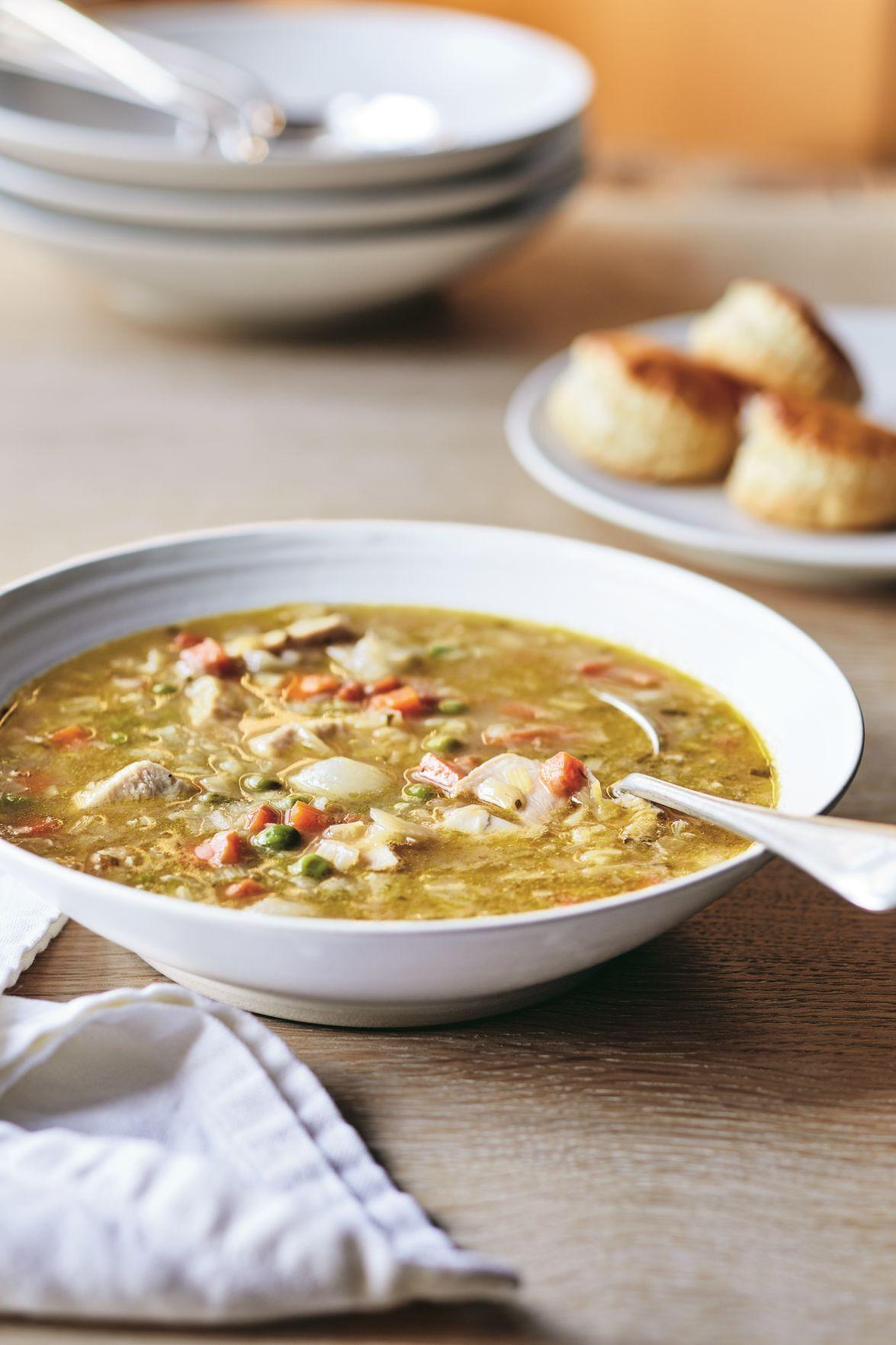 Chicken Pot Pie Soup