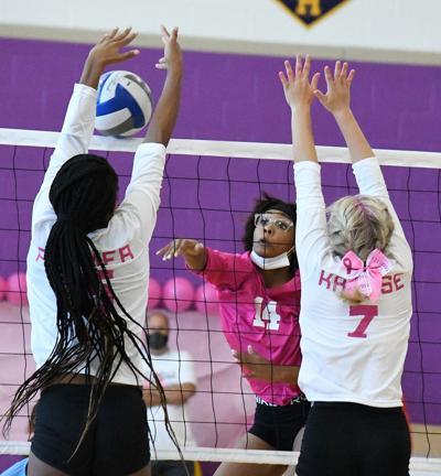 SH volleyball Faith Lewis