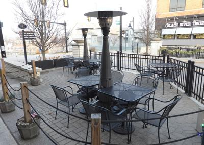 taste restaurant outdoor heaters