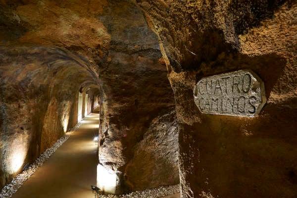 Descending into wine history in Spain