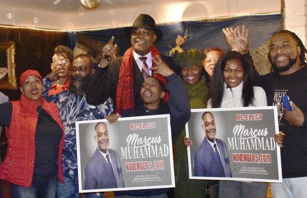 Muhammad wins 2nd term