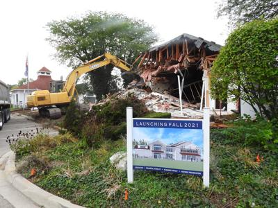 Maritime museum demolition