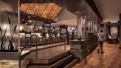 Live Bar at Kankakee Grille inside Four Winds New Buffalo