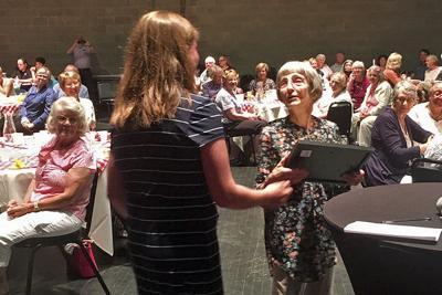 Mendel Center honors Volunteer of the Year