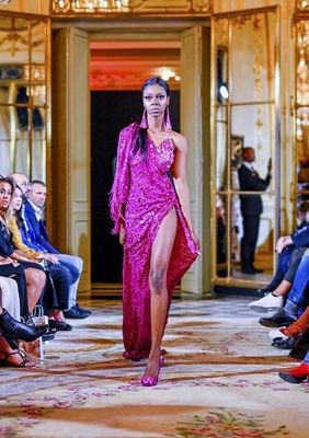 BH designer, model still glowing after Paris trip