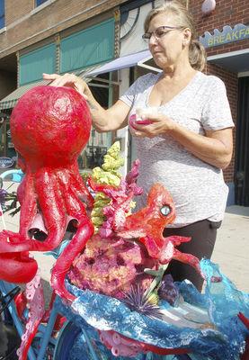 'Art Bikes' vandalized in SH