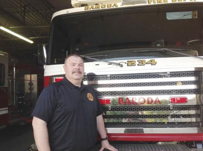 Doug deBest named 'fire chief elect' in Baroda