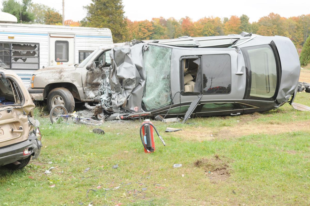 fatal car crash van