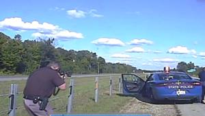 Van Buren Sheriff's Department dash cam footage