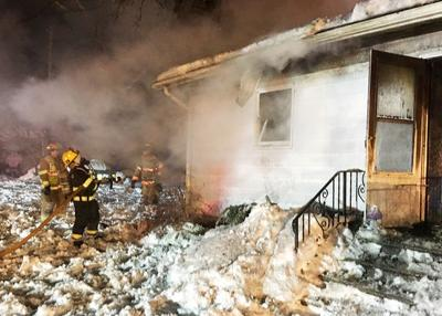 Fire destroys home in Baroda