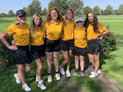 SH girls golf team
