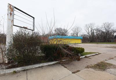 proposed gas station