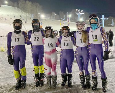 South Haven ski team photo