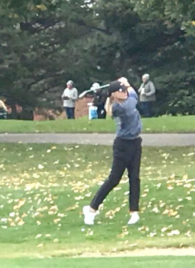 South Haven golfer Sydney Barnes