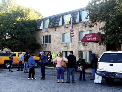 Tenants displaced by fire at Bridgman apartments