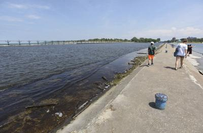 Big Lake water level a half-inch below all-time June record