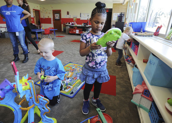 LOGAN Center dedicates new classroom