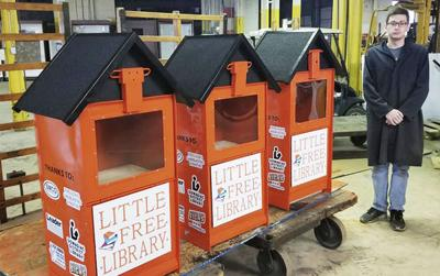 Little libraries pop up in Dowagiac