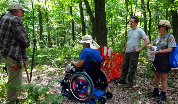 After 11 years, disabled hiker returns to the trail