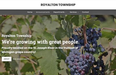 Royalton Township revamps its website