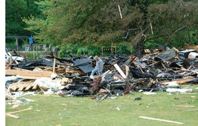SH house explosion aftermath
