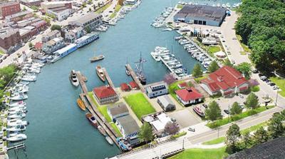 Michigan Maritime Museum rendering