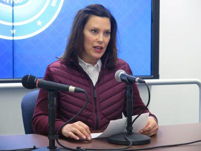 Whitmer issues stay-at-home order
