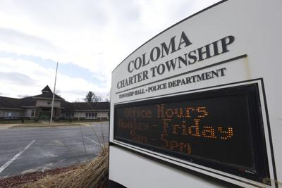 New website for Coloma Township