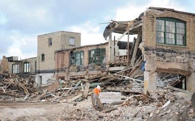 Overton demolition file photo