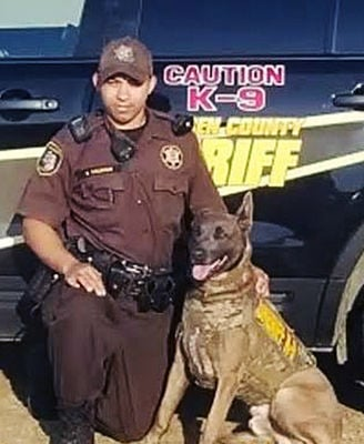 K9 officer, handler need your votes
