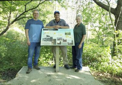 Signs start going up along Kal-Haven Trail
