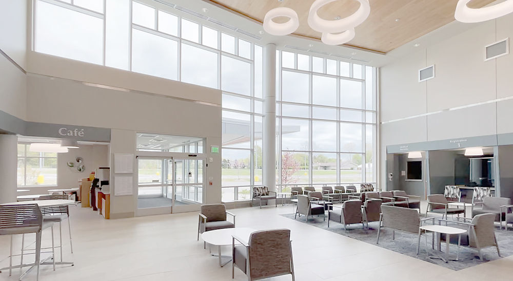 SH bronson hospital interior