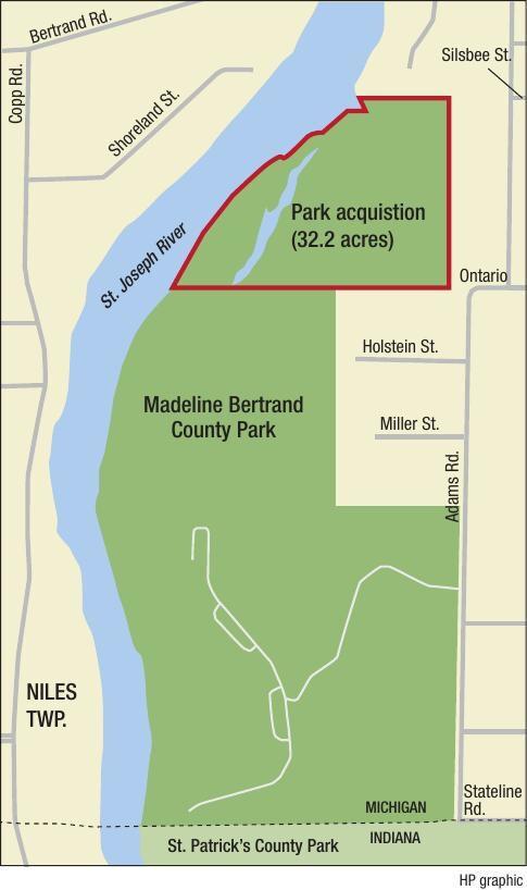 Madeline Bertrand Park expansion