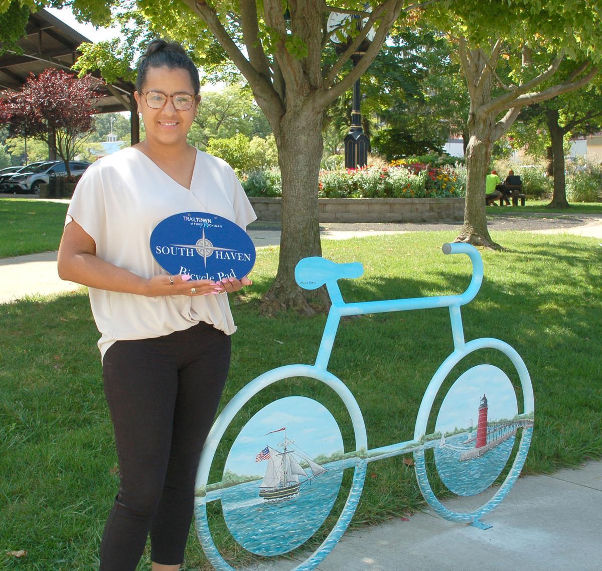 bike rack Jen Sistrunk