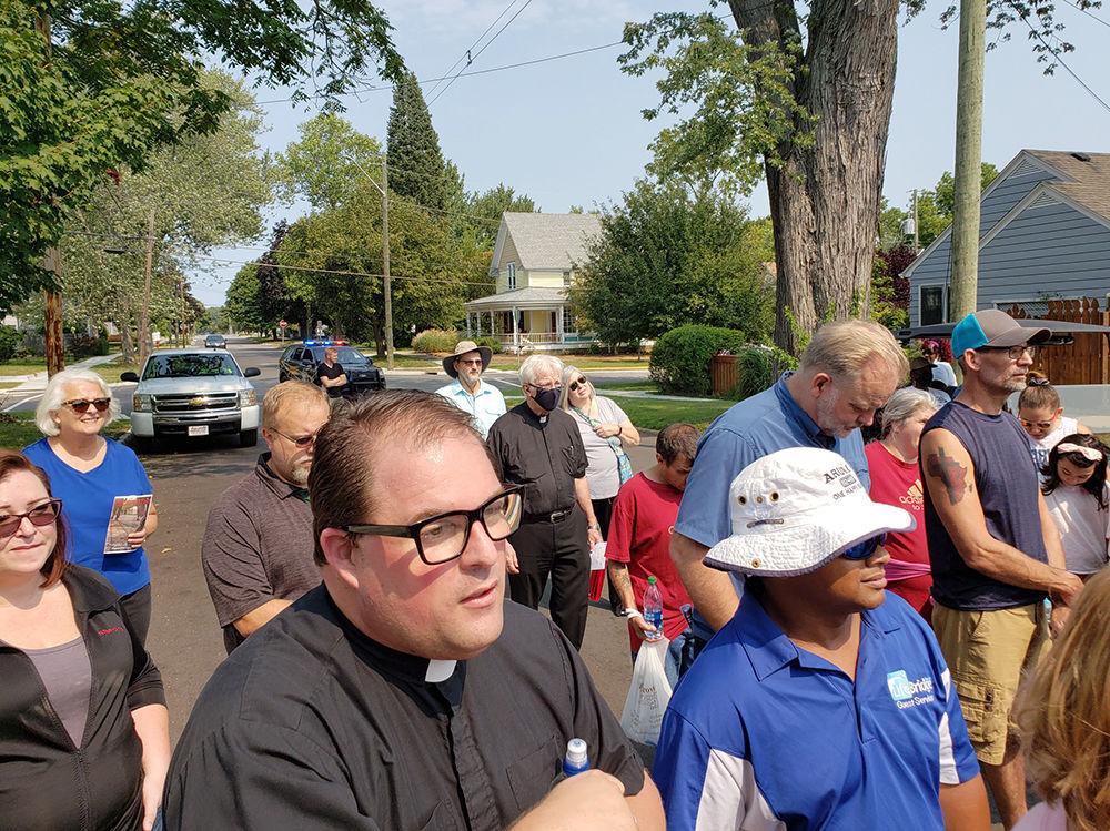 SH Unity walk travis wilson