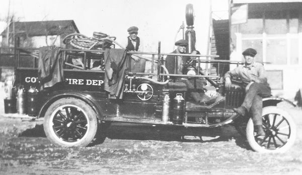 Fire department celebrates 100 years