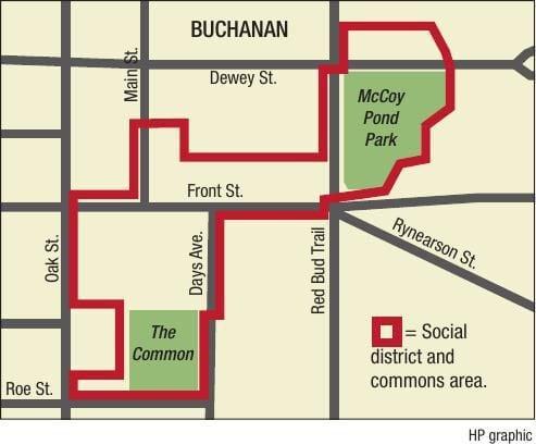 Buchanan Social District