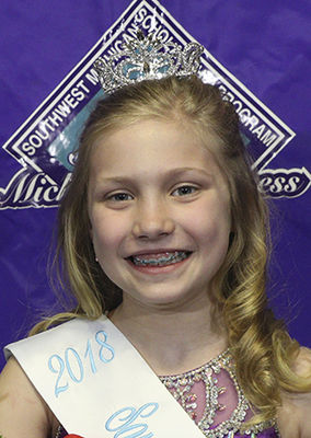Pre-Teen, SW Mich.'s Princess named