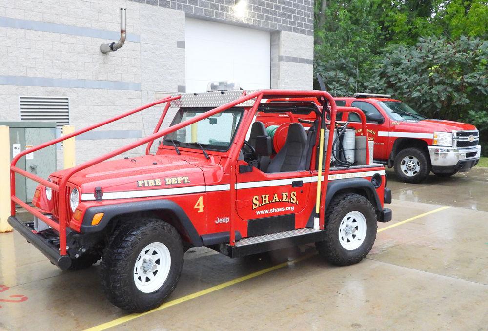 SH grass fire truck