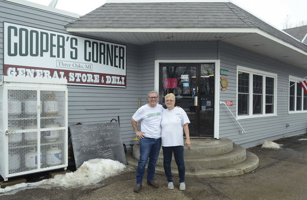 Improving on a Three Oaks tradition at Cooper's Corner