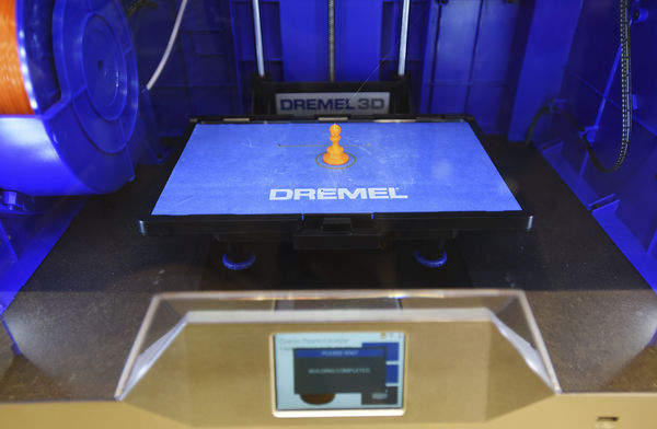 Hartford Library acquires 3-D printer with grant funds