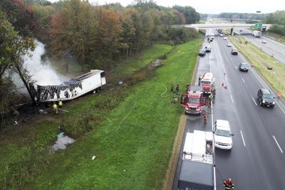 Truck driver killed in crash on I-94