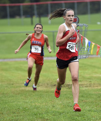 Bridgman girls seek XC state title