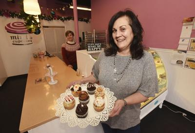 The cupcake lady
