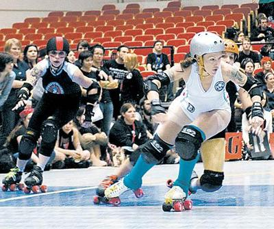 Lawyer by day, derby girl by night
