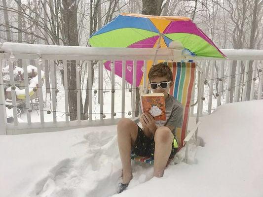 MC Swegles and his snow day rap