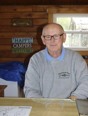 campground manager plans to stay busy in retirement