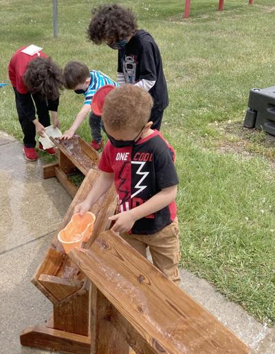 Head Start playground trough