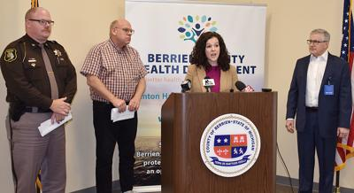 Officials announce first two positive coronavirus cases in Berrien County